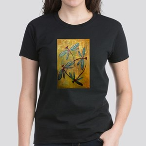 Dragonfly Haze Women's Dark T-Shirt