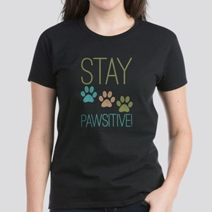 Stay Pawsitive Women's Light T-Shirt