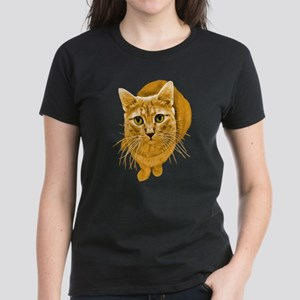 Orange Cat Women's Dark T-Shirt