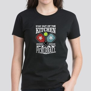Stay Out Of The Kitchen Play Pickleball T-Shirt