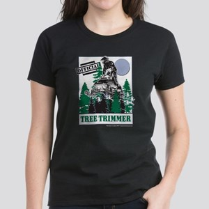 Official Snowmobiler Tree Tri Women's Dark T-Shirt