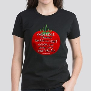 Tomato Smarts Women's Dark T-Shirt