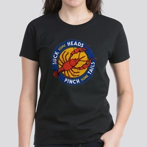 Suck Some Heads PInch Some Ta Women's Dark T-Shirt