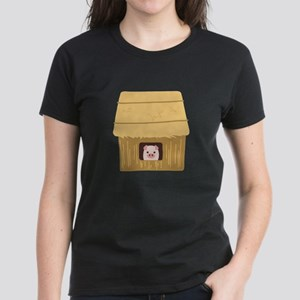 Straw House Pig T-Shirt