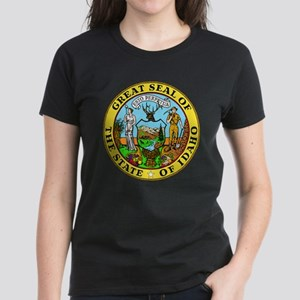 Great Seal of Idaho Women's Dark T-Shirt