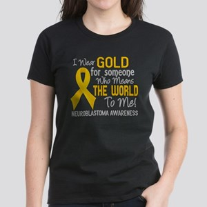 Neuroblastoma MeansWorldToMe2 Women's Dark T-Shirt