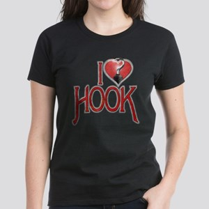 I Heart Hook Women's Dark T-Shirt