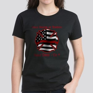 Personalized Firefighter symbol T-Shirt