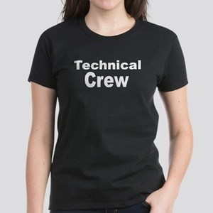 Backstage Technical Crew Women's Dark T-Shirt