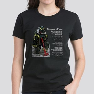 Firefighter Prayer Women's Dark T-Shirt
