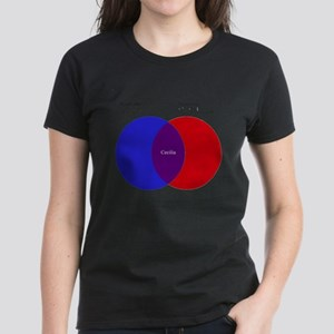 2d8e033469 Funny Venn Diagrams T-Shirts - CafePress
