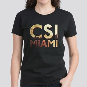 CSI Miami Skyline Women's Dark T-Shirt