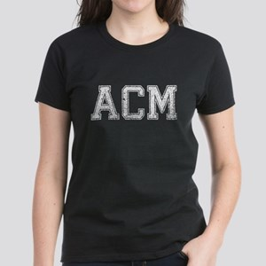 ACM, Vintage, Women's Dark T-Shirt