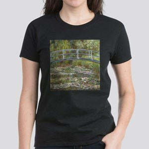 Monet Bridge over Water Lilies T-Shirt