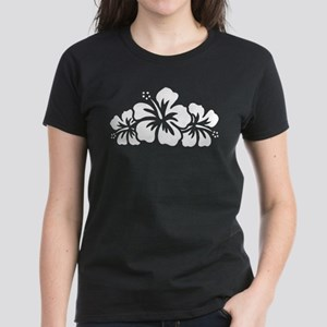 Hawaiian Flower Women's Dark T-Shirt