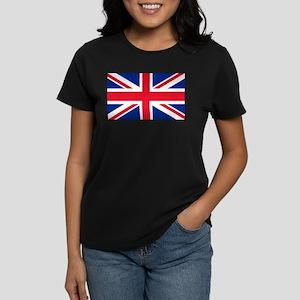 1f9ffbc0 T-Shirts. Britain Flag Women's Dark T-Shirt