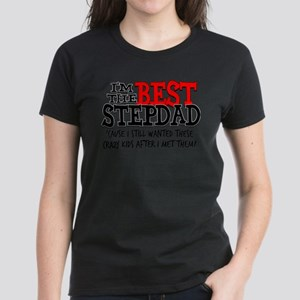 Best Stepdad Women's Dark T-Shirt