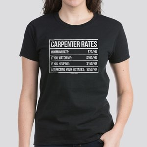 061e604b3 Carpenter Women's T-Shirts - CafePress