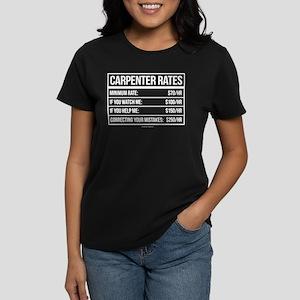 1241a064 Carpenter Women's T-Shirts - CafePress