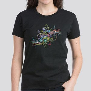 Music in the air Women's Dark T-Shirt