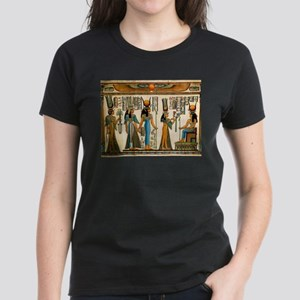 Ancient Egyptian Wall Tapestry Women's Dark T-Shir