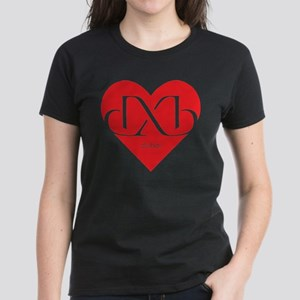 Heart Dubai Women's Dark T-Shirt