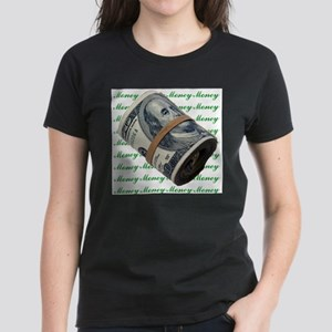 MONEY MONEY MONEY Women's Dark T-Shirt