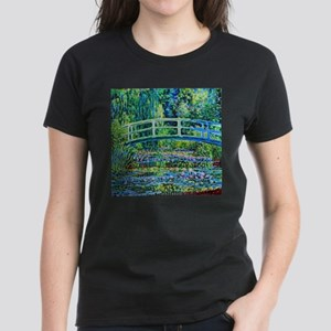 Monet - Water Lily Pond Women's Dark T-Shirt