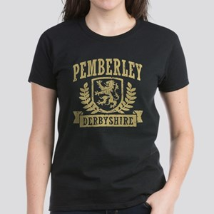 Pemberley Derbyshire Women's Dark T-Shirt