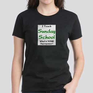 teach sunday school Women's Dark T-Shirt