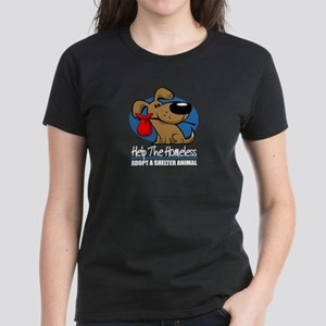 Homeless Pets Women's Dark T-Shirt