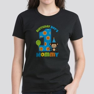 Monkey Birthday Boy's Mommy T-Shirt