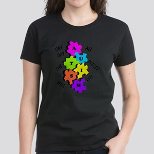 One Day The Pieces Will Fit Bright T-Shirt