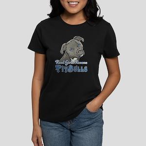 7225c07b3 Real Girls Rescue Pitbulls T-Shirt