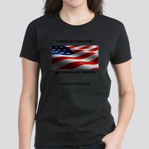 gf american shirt Women's Dark T-Shirt