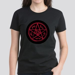 Supernatural Devils Trap Blac Women's Dark T-Shirt
