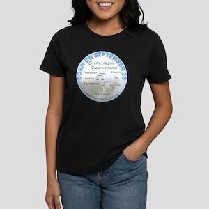84e952a1 September 28th Birthday - Lib Women's Dark T-Shirt