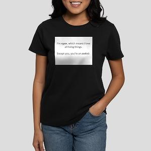 647956664 I'm Vegan, You're an Asshole T-Shirt