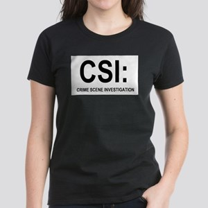 CSI:Crime Scene Investigation Women's Dark T-Shirt