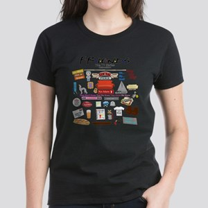 FRIENDSTV Symbol and Quotes T-Shirt