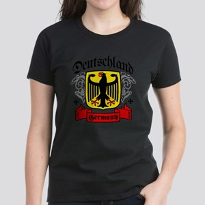 Deutschland Coat of Arms Women's Dark T-Shirt