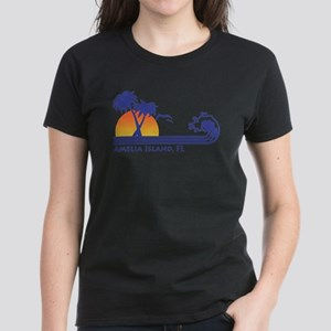 Amelia Island Florida Women's Dark T-Shirt