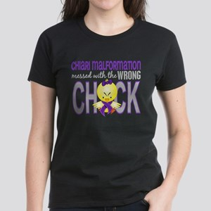 Chiari MessedWithWrongChick1 Women's Dark T-Shirt