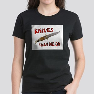 KNIVES Women's Dark T-Shirt