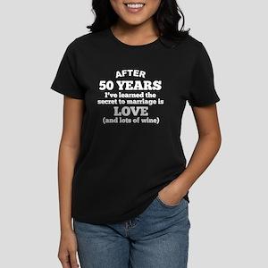 50 Years Of Love And Wine T-Shirt