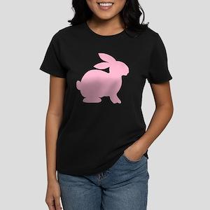 Pink Bunny Women's Dark T-Shirt