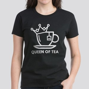 Queen Of Tea Women's Dark T-Shirt