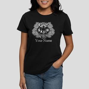 Delta Phi Lambda Crest Person Women's Dark T-Shirt
