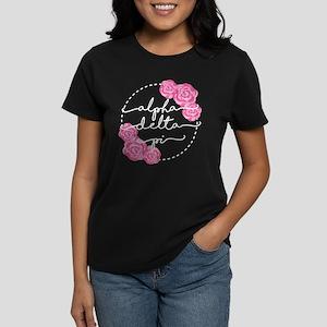Alpha Delta Pi Floral Women's Classic T-Shirt