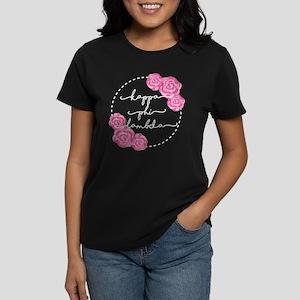 Kappa Phi Lambda sorority pink roses T-Shirt